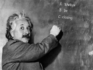 einstein-always-be-closing